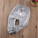 กางเกงเด็ก แมวน้อย (เทา)