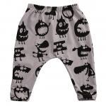 กางเกงเด็ก Demons (เทา)
