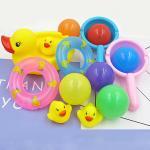 Baby Touch ของเล่นเด็ก ตุ๊กตาลอยน้ำ ลอยมาเป็นกอง (เป็ดตักบอล)