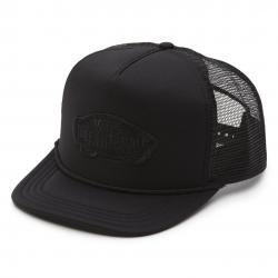 Vans Classic Patch Trucker Hat - Black / Black
