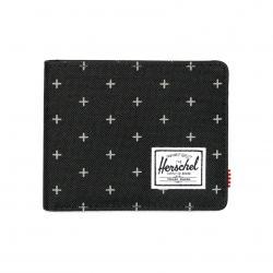 Herschel Roy Wallet | Coin - Black Gridlock / RFID