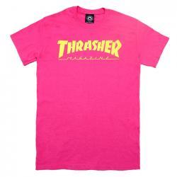 Thrasher Magazine Logo T-Shirt - Pink