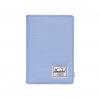 Herschel Raynor Passport Holder - Hydrangea / Dark Chambray Crosshatch / RFID
