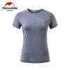 Nature hike เสื้อเดินป่าแห้งเร็ว (Quick-drying Breathable Shirt) - Grey