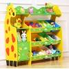 Giraffe Keeping Toy ชั้นวางของเล่น ยีราฟ กระบะใหญ่ พร้อมช่องเก็บของ วางหนังสือ