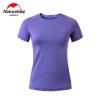 Nature hike เสื้อเดินป่าแห้งเร็ว (Quick-drying Breathable Shirt) - Purple