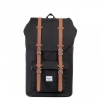 Herschel Little America - Black/Tan Synthetic Leather