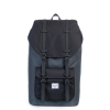 Herschel Little America - Dark Shadow / Black / Black Rubber