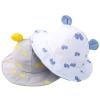 หมวกเด็ก ปีกรอบ หูกลมลายผีเสื้อ (Hat - DL)