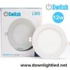 ดาวน์ไลท์ LED 12w รุ่น Panlellight Sigma ยี่ห้อ Switch (แสงขาว)