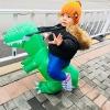 Baby Touch ของเล่นเด็ก กิจกรรมมหาสนุก ชุดไดโนเสาร์เป่าลม (TAB1-4)