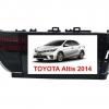 จอวิทยุแอนดรอยตรงรุ่น Toyota Altis 2014