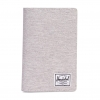 Herschel Search Passport Holder - Light Grey Crosshatch / RFID