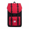 Herschel Little America - Black / Scarlet