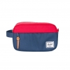 Herschel Chapter Travel Kit | Carry-On - Navy / Red