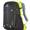 Gregory Salvo 28 - Black / Macaw Green