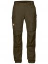 Fjällräven - กางเกงเดินป่าเดินเขารุ่น Vidda Pro Trousers Regular for women - Dark Olive