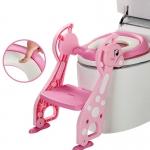 Baby Toilet Seat Giraffe บันไดชักโครก สำหรับเด็ก รุ่น ยีราฟ