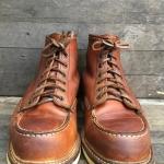 Redwing1907มือสอง size7.5D ด้านในวัดจริงยาว25.5cm เหมาะกับเท้าเบอร์ 40.5-41.5 เดิมๆหนังสวยทรงสวย สภาพใส่หล่อๆยาวๆราคา 4200 รวมส่ง EMS Take2shop หน้าร้านอยู่บน ถนนเพชรเกษม ตรงแยกสาย2 ตรงข้ามปั้ม เอสโซ่ ฝั่งโรงพยาบาลเกษมราษฎร์ บางแค เปิดทุกวันครับ 9AM-10PM