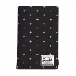 Herschel Search Passport Holder - Black Gridlock / RFID