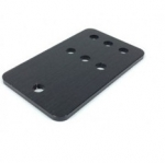 Idler Pulley Plate (Black)