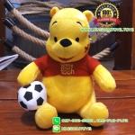 ตุ๊กตาพูห์ 10 นิ้ว ชุดทีมอังกฤษ ผ้า 1C [Disney]