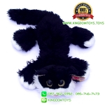 ตุ๊กตา แมวขนเปียก Lying Cat สีดำ 12 นิ้ว [Anee Park]