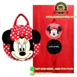 หมอนผ้าห่มกลมมินนี่ Minnie [Disney]