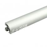 2020R T-Slot อลูมิเนียมโปรไฟล์ สีเงิน (ราคา/10cm)