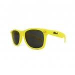 Knockaround Fort Knocks Sunglasses - Yellow Smoke