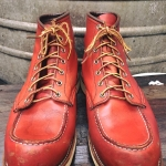 5.RED wing 8131 size 11E