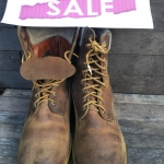 17.SALE#Vintage Timberland boot made in USA size 9.5w