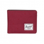 Herschel Hank Wallet - Windsor Wine/Windsor Wine Polka Dot