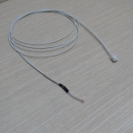 100K ohm NTC 3950 Thermistors with cable 1M + 2 pin Terminals XH White