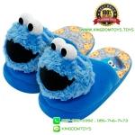รองเท้าคุ๊กกี้มอนสเตอร์หัวโผล่ พื้นหนา [Sesame Street]