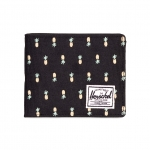 Herschel Roy Wallet - Black Pineapple / Embroidery