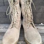 USA Army boot ทหารสิงห์ทะเลทราย พื้นโรเสริท เบอร์ 11