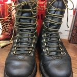 1. Vintage Herman Survivor hunting work boot หนังเขียว size 7.5