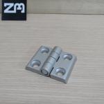 บานพับอลูมิเนียมโปรไฟล์ 3030 ระยะรู 30x24 mm (สีเงิน)