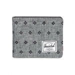 Herschel Hank Wallet - Raven Crosshatch Embroidery