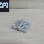 บานพับอลูมิเนียมโปรไฟล์ 2020 ระยะรู 20x14 mm (สีเงิน)