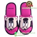 รองเท้า มินนี่เมาส์หน้าเต็ม พื้นบาง [Disney]