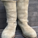 Chippewa Engineer boot หนังกลับ ป้ายเก่า ปีลึก เบอร์7.5 E/25.5cm ราคา 2000