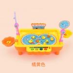 เกมส์ตกปลา+ตกเป็ด ใส่น้ำเคลื่อนไหวได้ Y68016 [สีส้ม]