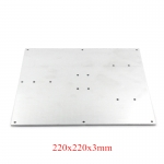 220 x 220 x 3 mm Aluminum Plate for MK2B Hotbed 3D printer parts