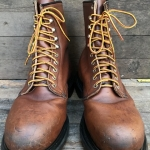 VintageRedwing2233 safety Boots หัวเหล็ก size 8D