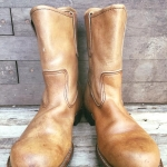12.Vintage Redwing 966 ปี 1972 work boot size 7