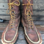 1960 WC Russell Moccasin USA hand made sine 1898 size10-