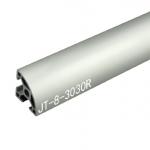 3030R T-Slot อลูมิเนียมโปรไฟล์ สีเงิน (ราคา/10cm)