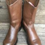 RED WING 2231 PULL-ON BOOT ((หัวเหล็ก)) หนังน้ำตาลนุ่ม Velva Boomer leather พื้น oil-resistant